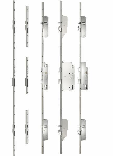Baukasten AS 2300, AS 3600, EP 960, Schließleiste, Schließbleche