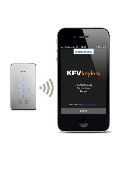 KFVkeyless, Taster, iPhone 6