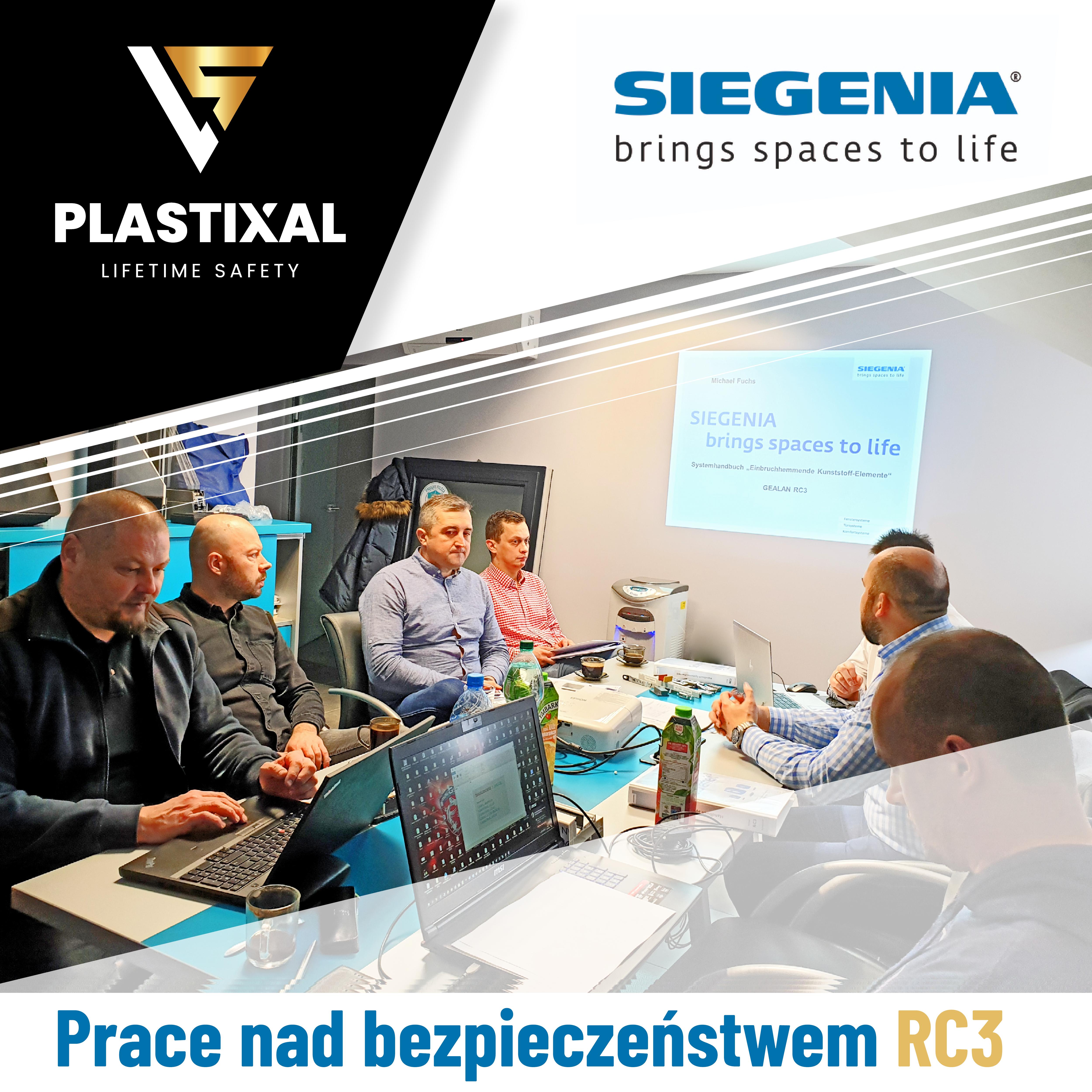 Spotkanie robocze Plastixal i Siegenia - analiza techniczna okna RC3