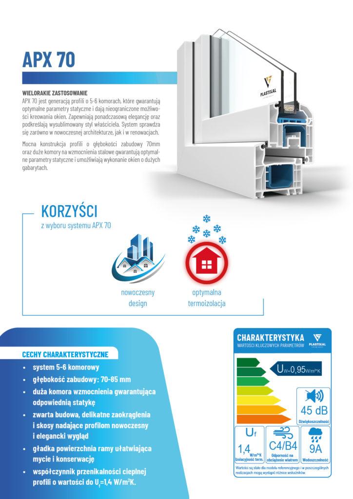 APX 70 - broszura informacyjna PLASTIXAL 2