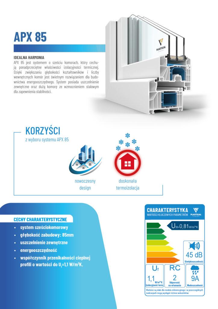 APX 85 - broszura informacyjna PLASTIXAL 2
