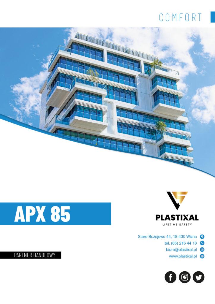 APX 85 - broszura informacyjna PLASTIXAL