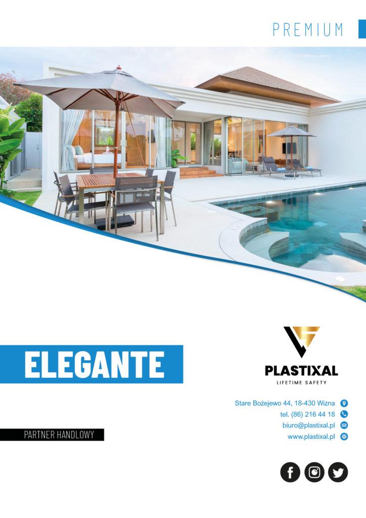 Elegante - broszura informacyjna PLASTIXAL