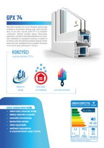 GPX 74 – broszura informacyjna PLASTIXAL 2