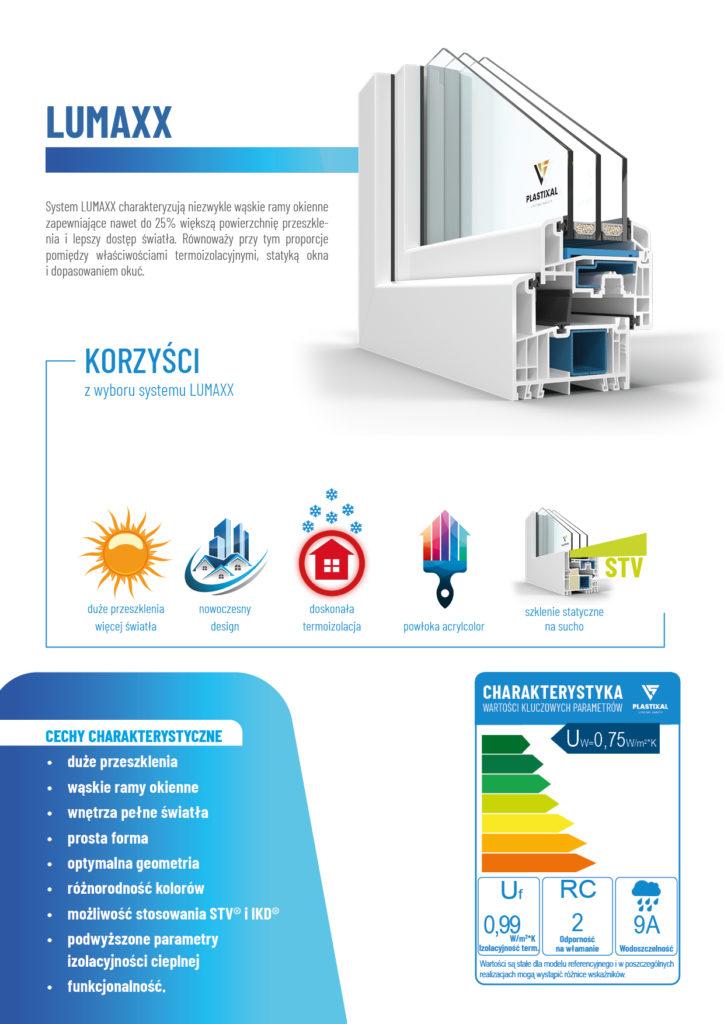 LUMAXX - broszura informacyjna PLASTIXAL 2