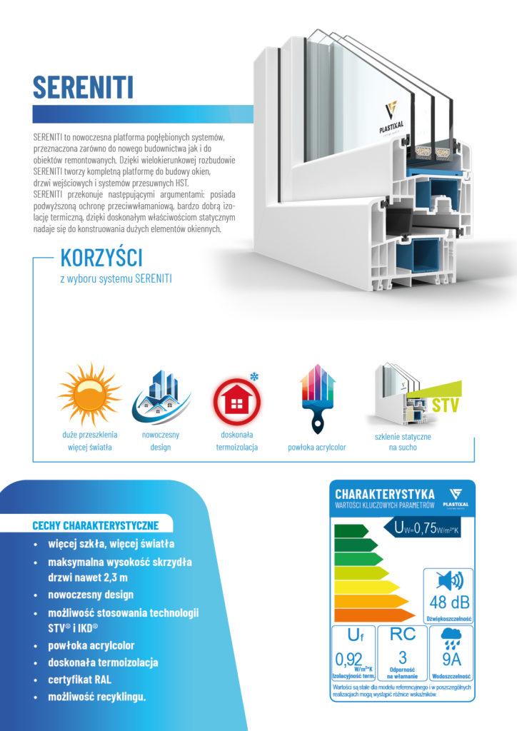 SERENITI - broszura informacyjna PLASTIXAL 2