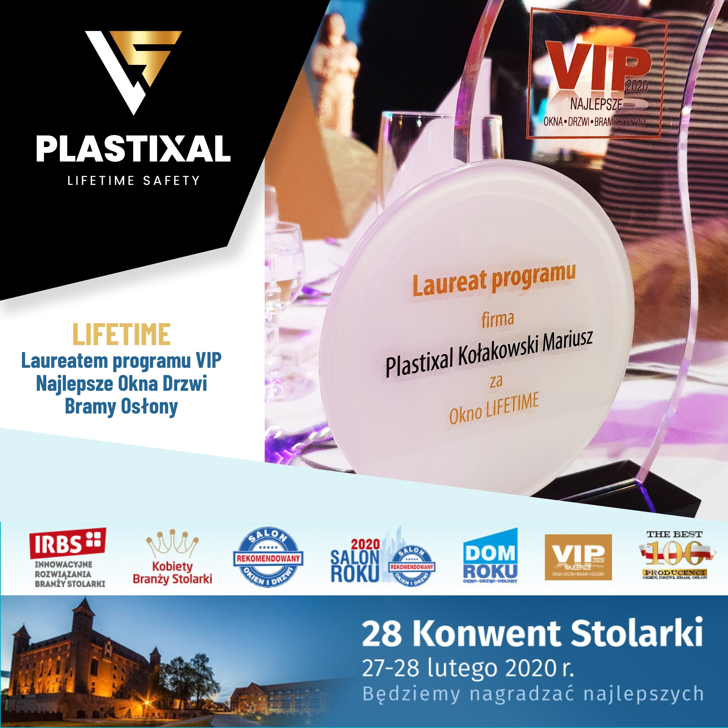 Lifetime - okno z dożywotnią gwarancją Plastixal