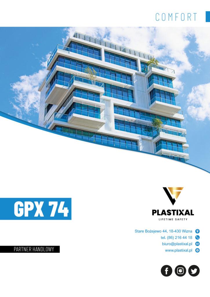 GPX 74 - broszura informacyjna PLASTIXAL