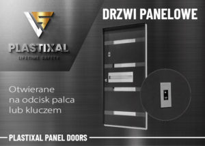 Plastixal panel doors Aluprof