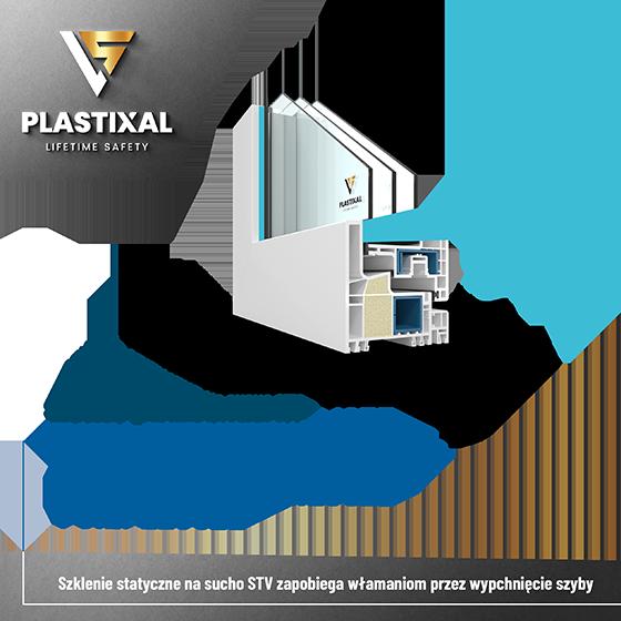 Technologia STV okna Plastixal - poprawa bezpieczeństwa okien i drzwi poprzez wklejenie szyby.l