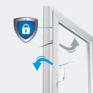 Plastixal mikrowentylacja w oknach vent Secure
