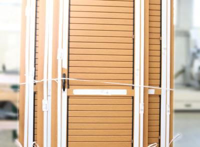 okiennice dąb struktura balkon